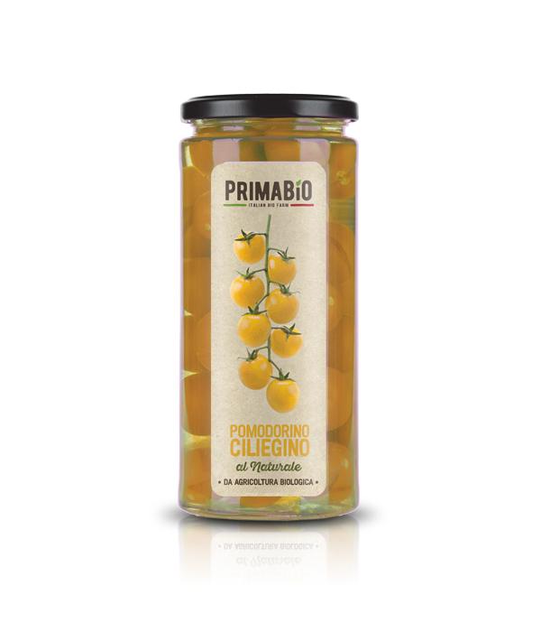 Pomodorino ciliegino giallo al naturale